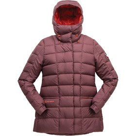 Big Agnes Trudy Jacket Women, chocolate/paprika